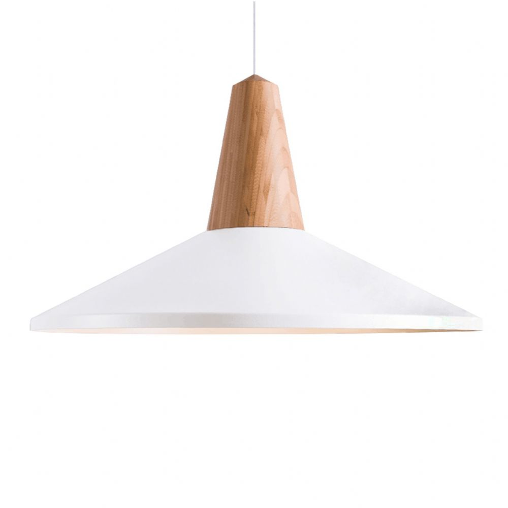 Eikon Shell Pendant Ceiling Lights, Type A White